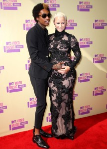 Parents-to-be Wiz Khalifa and Amber Rose, Source: US Magazine