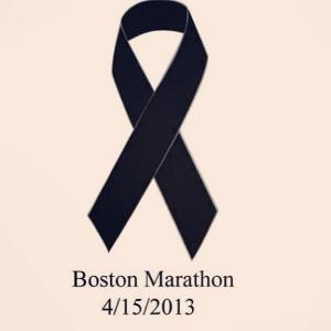 Boston Marathon Ribbon