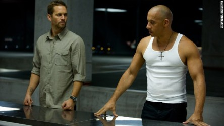 Paul Walker and Vin Diesel